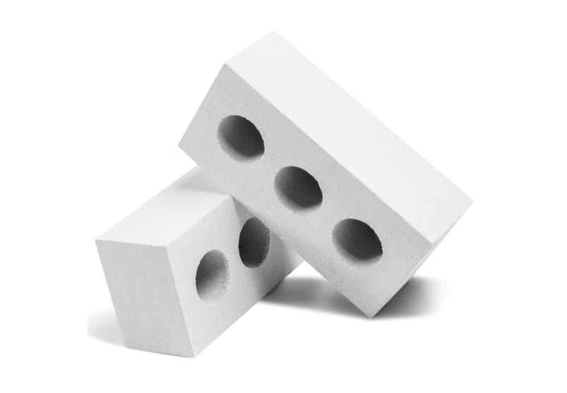 Купить Кирпич силикатный, пустотелый, утолщенный, белый Зеленокумский